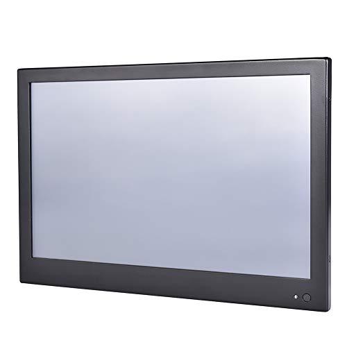HUNSN 13.3 Inch LED Industrial Panel PC, 4 Wire Resistive Touch Screen, Intel Celeron J1900, Windows 7/10 / Linux Ubuntu, PW10, VGA/3USB2.0/USB3.0/LAN/3COM/FANLESS, (8G RAM/64G SSD)