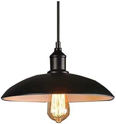 BAYCHEER Lámpara de techo, estilo industrial, Altura ...