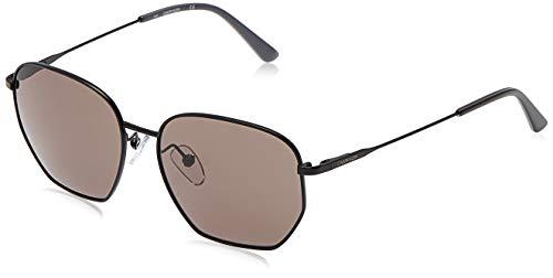 Calvin Klein CK19102S - Gafas de sol de metal satinado, unisex, para adulto, multicolor, estándar