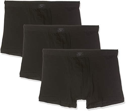 ESPRIT Herren Auburn Boxershorts, 001/BLACK, M (3er Pack)