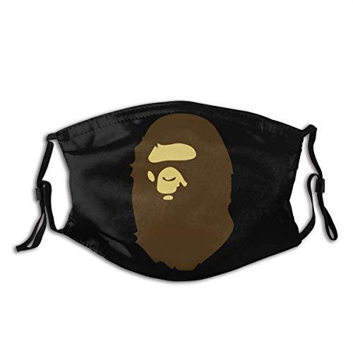 Colaecy Mundbedeckung Apee Ba-Pe Wiederverwendbarer Mundschal Gesichtsdekorationen S7