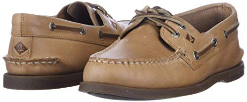 Sperry Top-Sider Men's A/O 2 Eye Boat Shoe,Sahara,10 M US