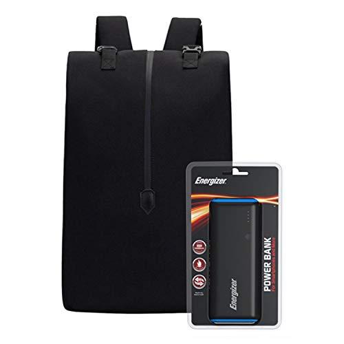 Energizer EPB004 Laptop-oplaadtas met UE10007 Powerbank, zwart