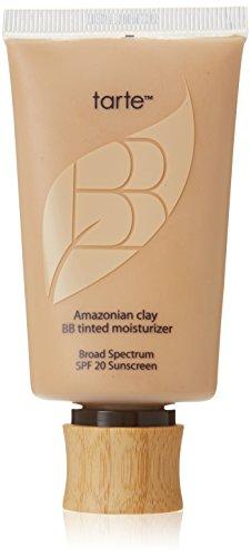 Tarte Cosmetics Amazonian Clay BB Tinted Moisturizer Broad Spectrum SPF 20, Light-Medium