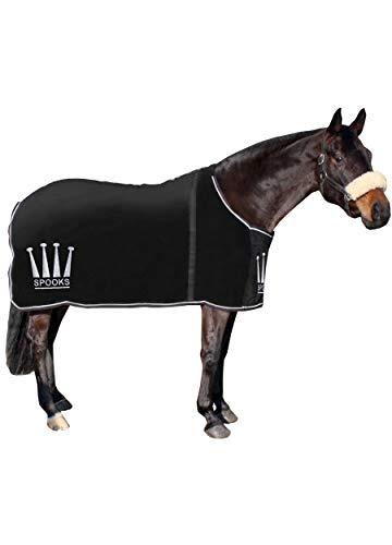SPOOKS Blanket Crown - DE (Farbe: black; Größe: 135cm)