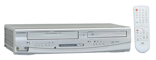 Great Price! Sylvania SRDD495 Progressive Scan DVD Player and VCR