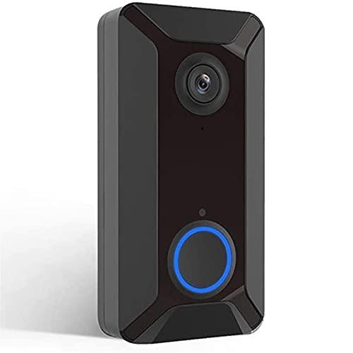 KSDCDF Smart WiFi Video intercom doorbell, Home Punch-Free, Mobile...