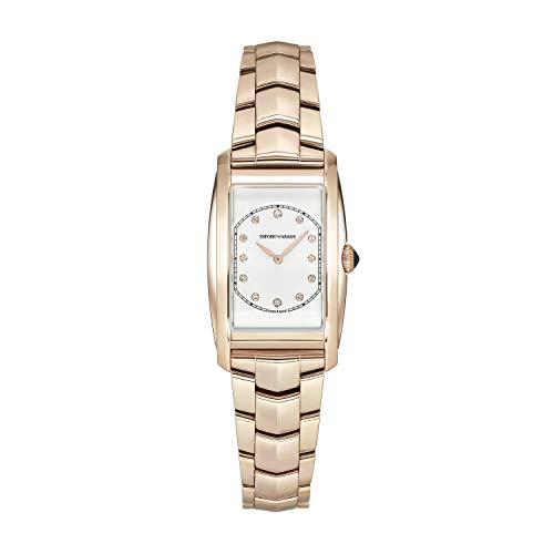 Emporio Armani - Reloj Tradicional de Cuarzo de Acero Inoxidable para Mujer de fabricación Suiza ARS8303
