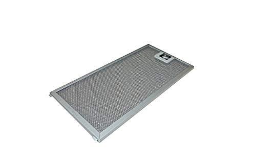 FRANKE 133.0200.454 Metall-Fettfilter 124 x 254 mm für Abzugshaube FMA 805 BK/Ersatzteil/Fettfilter/Metallfilter