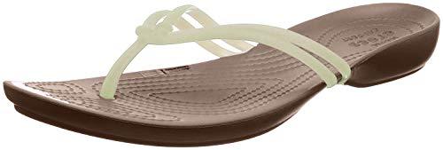 Crocs , Weiß (Weiß / Bronze), 39/40 EU
