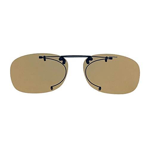 SWANS(スワンズ) サングラス メガネにつける クリップオン 偏光レンズ 跳ね上げタイプ SCP-2 LBRP2 偏光ライトブラウン2
