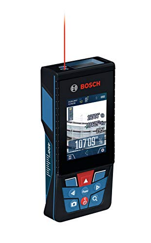 Bosch GLM400CL Blaze Outdoor 400ft Bluetooth Connected Laser Measure with Camera & Lithium-Ion Battery