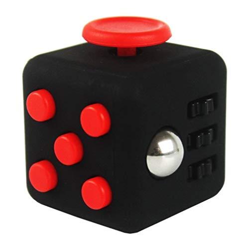 BelongsU Fidget Toy Cube con Click Ball Adult Anxiety Stress Alivia los Fidget Toys para niños Adolescentes Alivio del estrés Alivio del TDAH Gadgets sensoriales by