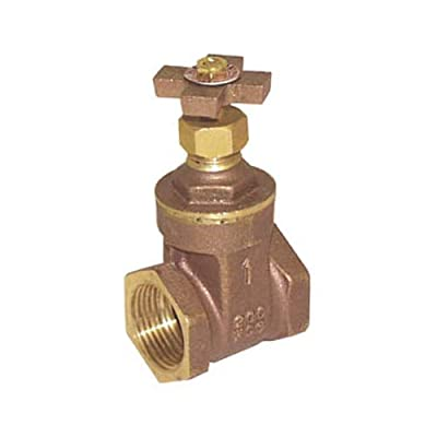 "Legend Valve 104-733 Cross Handle Brass Gate Valve, 1.1""x3.3""x1.8"" from Legend Valve"