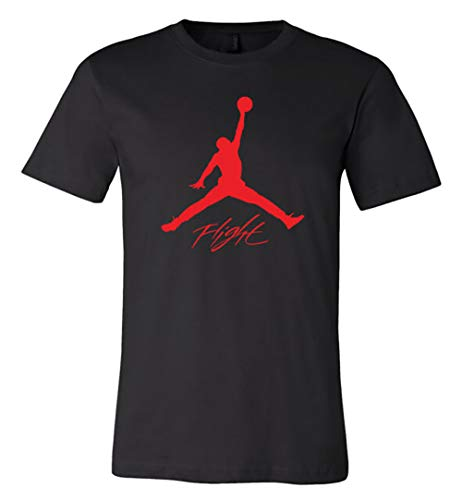 JOR.dan Flight Jumpman Red Big Logo T-Shirt