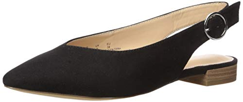 The Drop Women's Tara Pointed Toe Slingback Flat