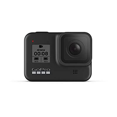 GoPro HERO8 Black - Waterproof Action Camera with Touch Screen 4K Ultra HD Video 12MP Photos 1080p Live Streaming Stabilization from GoPro