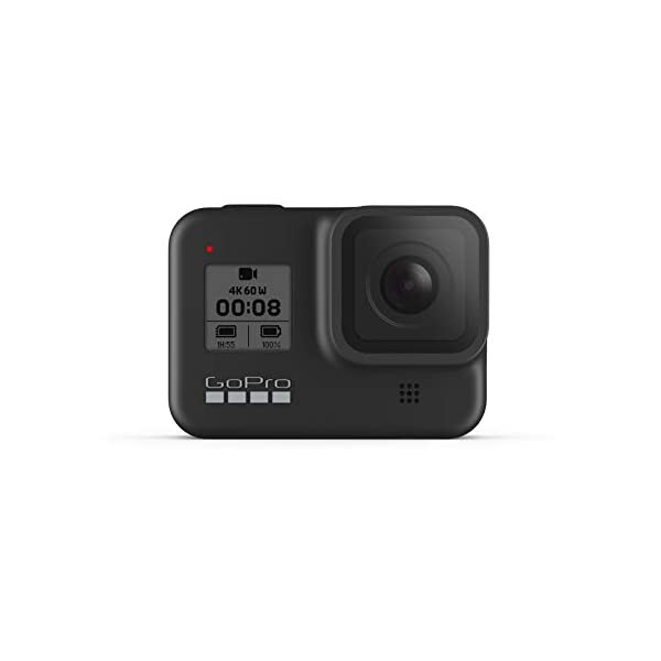 GoPro HERO8 Black – Waterproof Action Camera with Touch Screen 4K Ultra HD Video 12MP Photos 1080p Live Streaming Stabilization
