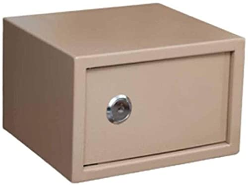 Caja fuerteCXSMKP Pequeño incombustible, Impermeable y antirrobo, Seguro, Caja de Seguridad, Caja de Acero, Bloqueo mecánico, Caja de Caja, Caja de hogar Inteligente.
