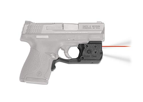 CRIMSON TRACE Red Laserguard Pro for Smith and Wesson M&P Shield 9mm...
