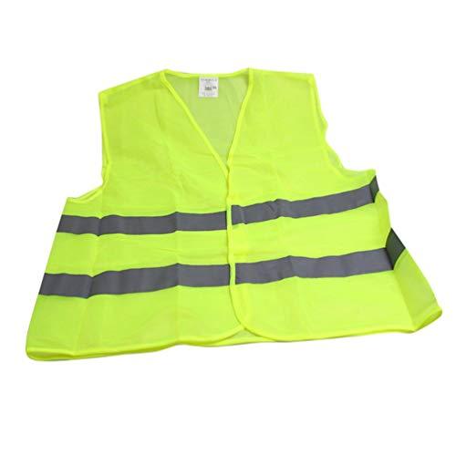 Oyamihin Reflektierende Streifen Verkehr Warnweste Arbeitskleidung hohe Sichtbarkeit Schutzweste für Hygiene Arbeitnehmer Assistent Polizei
