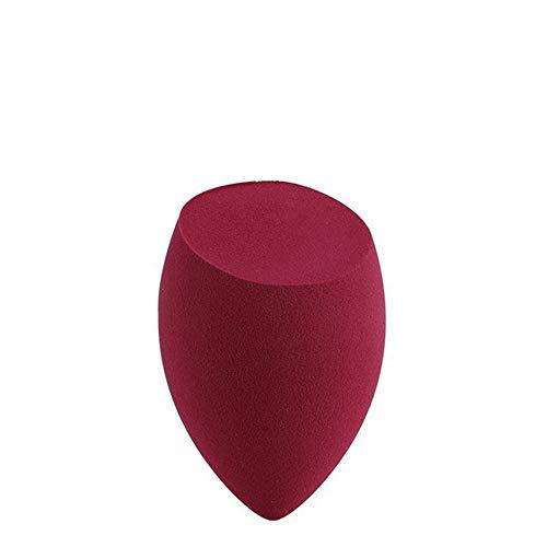 GDYX Bouffée de poudre Sponge Egg Makeup Puff Beauty Makeup Sponge Puff Foundation Bb Cc Cream Cosmetics Wine red