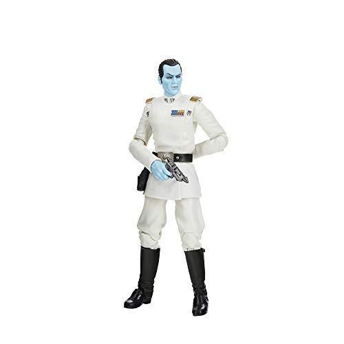 Figura de Star Wars Rebels de 15cm del Gran Almirante Thrawn de Star Wars The Black Series Archive, para niños a Partir de 4 años