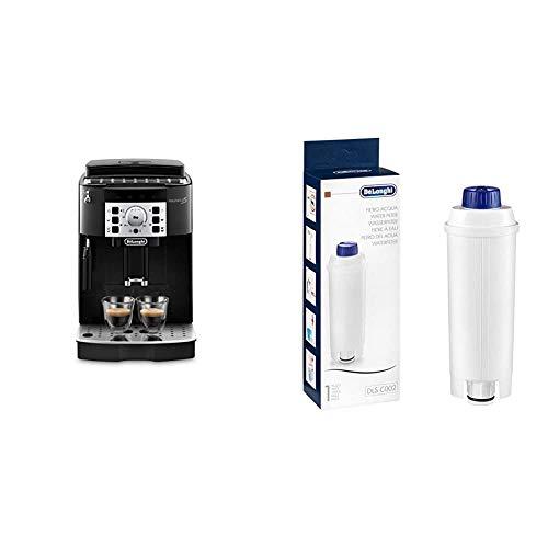 DeLonghi Magnifica S Ecam 22.110.B - Cafetera superautomática, 15 bares de presión, 13 programas ajustables, auto-limpieza + DeLonghi DLSC002 - Filtro agua antical, para cafeteras superautomáticas