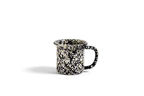 HAY - Enamel Tasse - schwarz - Design - Tasse