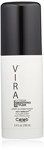 Celeb Luxury Viral Extreme Smoothing Hair Styler, Professional Leave-In Gloss Conditioner