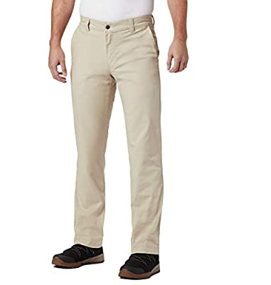 Columbia Men's Big and Tall Flex ROC Pant, fossil, 48x34