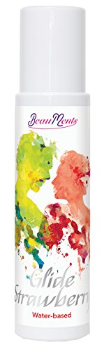 BeauMents Gleitmittel Glide Strawberry auf Wasserbasis 100 ml