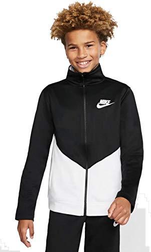 Nike Kinder Nsw Core Trk Ste Ply Futura Trainingsanzug, Multicolor/Red, S, BV3617