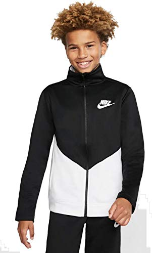 Nike Kinder Nsw Core Trk Ste Ply Futura Trainingsanzug, Black, L, BV3617