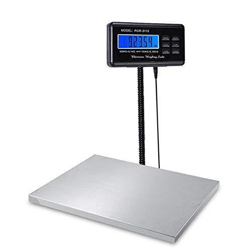 Industriële weegschaal Industriële weegschaal 150 kg / 0,05 kg 300 kg / 0,1 kg Postweegschaal Elektronische weegschaal Commerciële weegschalen Digitale platformweegschaal
