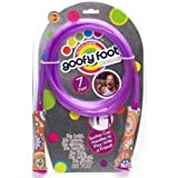 Goofy Foot Designs Kids Fitness Light up! Kids Jump Rope, Suction Cup Handles, 7 ft (Purple)