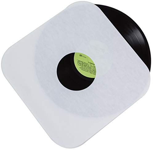 Vinyl Record Inner Paper Sleeves - Premium Acid Free Protection Covers for 12 inch LP Albums - 50 Pack