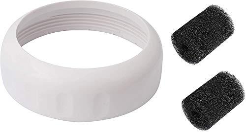 Poweka G57 Collar de válvula de Respaldo para Robot Limpiafondos Piscina Polaris 180 280 380 Diseñado para G52 Válvula de Respaldo con 91003105 Depurador de Cola de Piscina