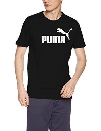 PUMA Herren ESS S Logo Tee T-Shirt, Weiß (White), XL