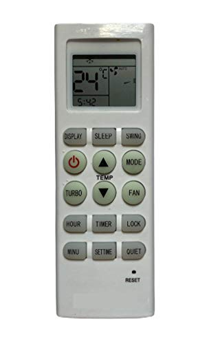Upix® AC Remote No. 36, Compatible with Reconnect AC Remote Control - Old Remote Functions Must be Exactly Same