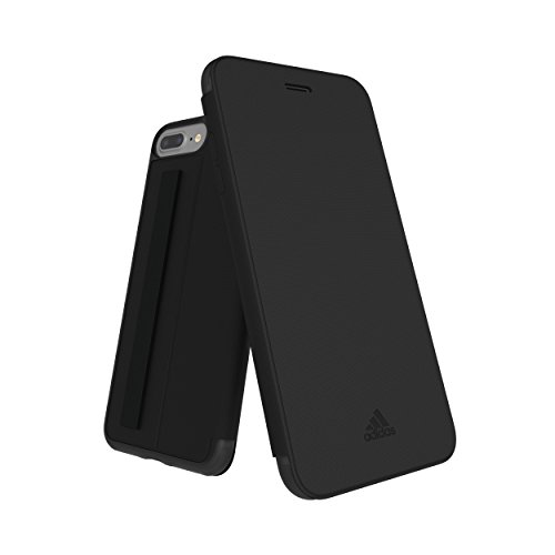adidas Performance Folio Grip Case Bookcover - Funda para Apple iPhone 7 Plus, Color Negro