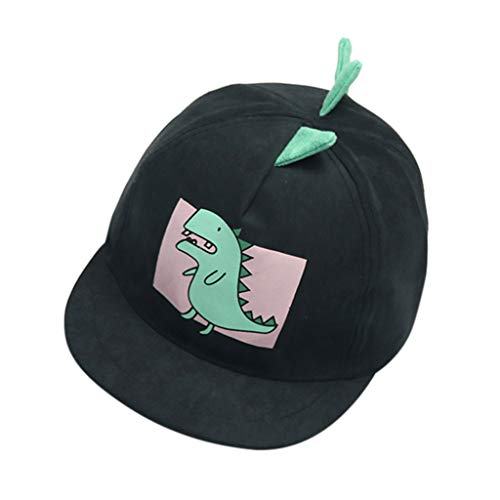Sunhat de bébé garçon dinosaure,Ewendy Casquette de baseball pour enfants Chapeaux Chapeau De Soleil En Coton Doux pour bébé 1-4 ans