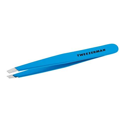 Pinça Chanfrada Tweezerman - Blue Jewel, Modelo Nº 1230-B09R