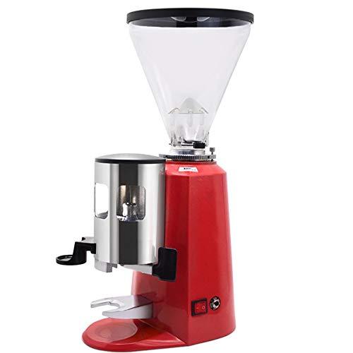 HL Portátil máquina de café, de 8 Posiciones Ajuste del Grosor de molienda, Compatible café molido, Viajes pequeña Cafetera, operado manualmente de pistón Acción El Ahorro de energía (Color : Red)