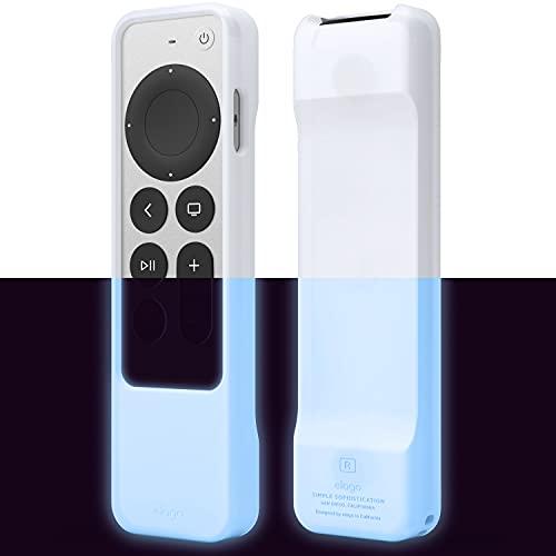 elago Funda R1 Compatible con Apple TV 4K Siri Remote (2021), Tecnología Magnética, Cordón Incluido, Gran Agarre, Absorción de Golpes, Protección, Acceso a Todas Las Funciones (Luminoso Azul)