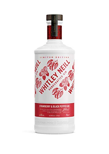 Whitley Neill Strawberry & Black Pepper Gin 0,7l - 43%