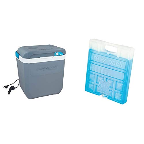 Campingaz Powerbox Plus Thermoelektrische 12V/230 V Kühlbox, Hochleistungs-Kühlbox Auto, mit UV Schutz, 28 Liter & Kühlelement - Freeze Pack M20, 17 x 3 x 20 cm