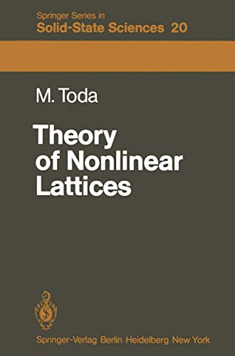 Theory of Nonlinear Lattices (Springer series in solid-state sciences, vol.20)