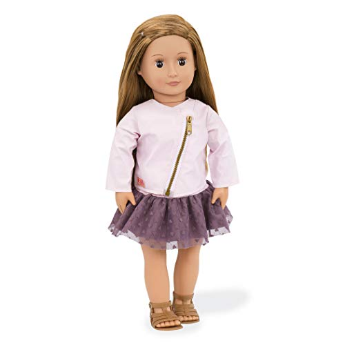 """Our Generation Doll by Battat- Vienna 18"""" Regular Non-Posable Fashion Doll- for Age 3 Years & Up"""