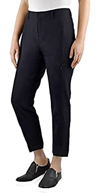 Kirkland Signature Ladies' Ankle Length Travel Pant (8, Black)